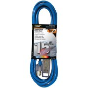 PowerZone Sjtw Heater Cord, 16 Awg, 15 Ft