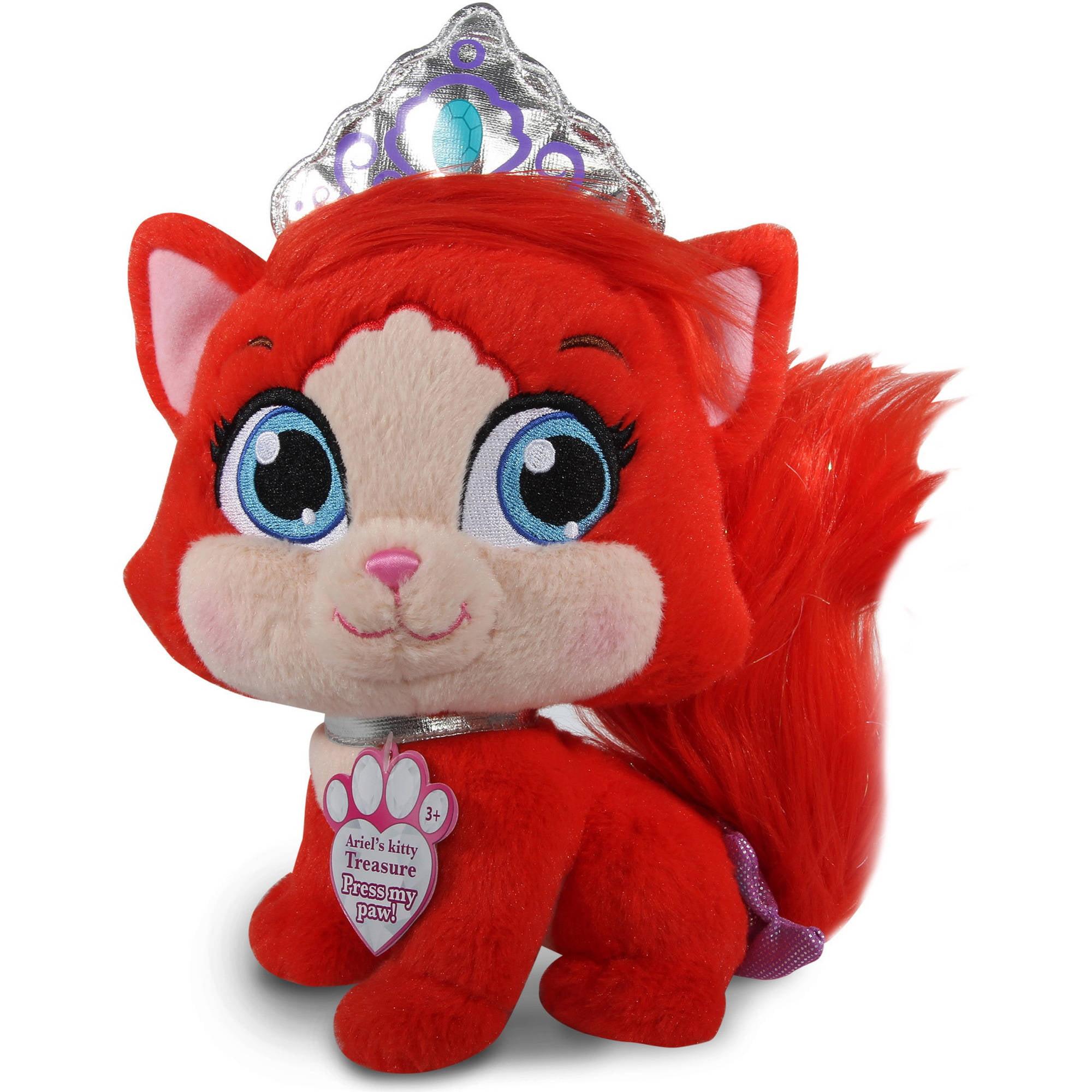 Disney Princess Palace Pets Ariel S Kitty Treasure Talking Singing Pet Tv Movie Character Toys