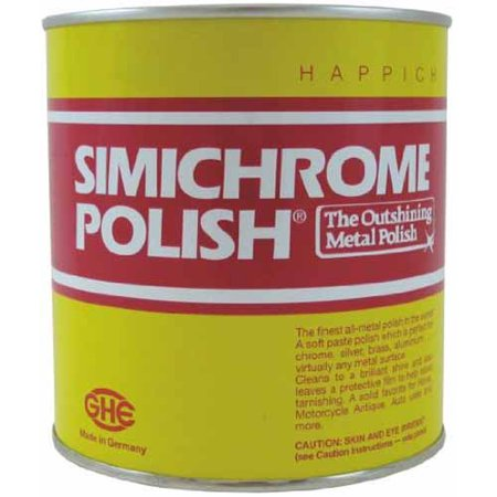 Simichrome Metal Polish Can 1000g For Use With Car Brass Knife Gun Motorcycle Chrome Metal &