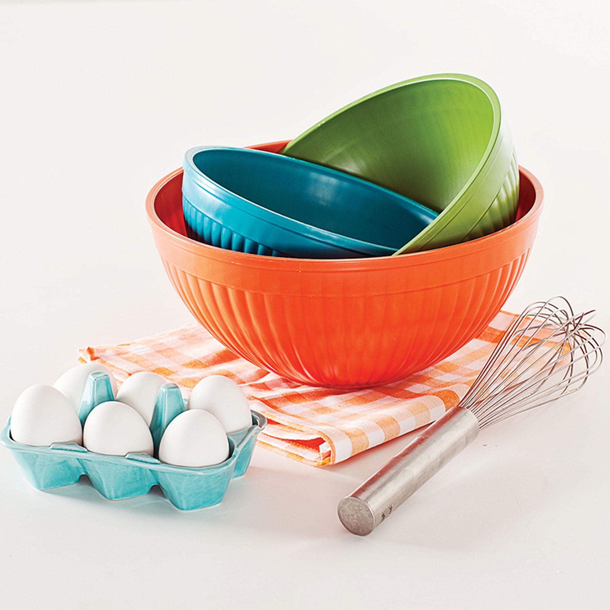 Nordic Ware Set of 3 Prep n' Serve Bowls