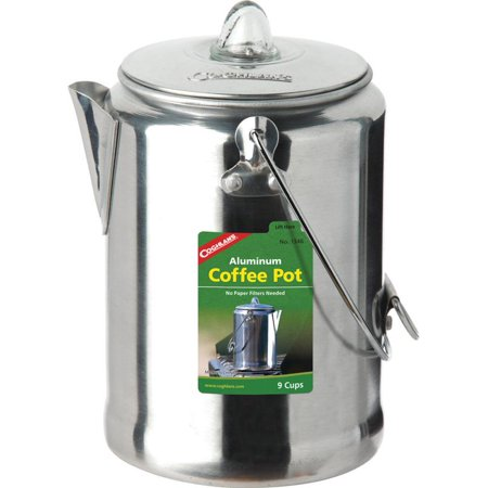 - Coghlan's Aluminum 9-Cup Coffee Percolator