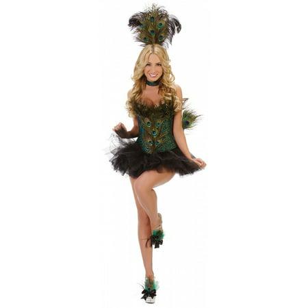Peacock Adult Costume - Medium