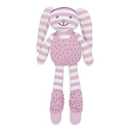 Organic Farm Buddies Plush Toy - Hip Hop Bunny, 14 inches