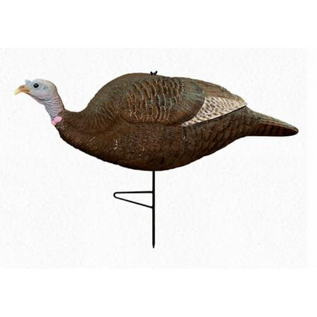 Position Hen Turkey Hunting Decoy (Primos Gobbstopper HD Submissive Hen Decoy 69065 )