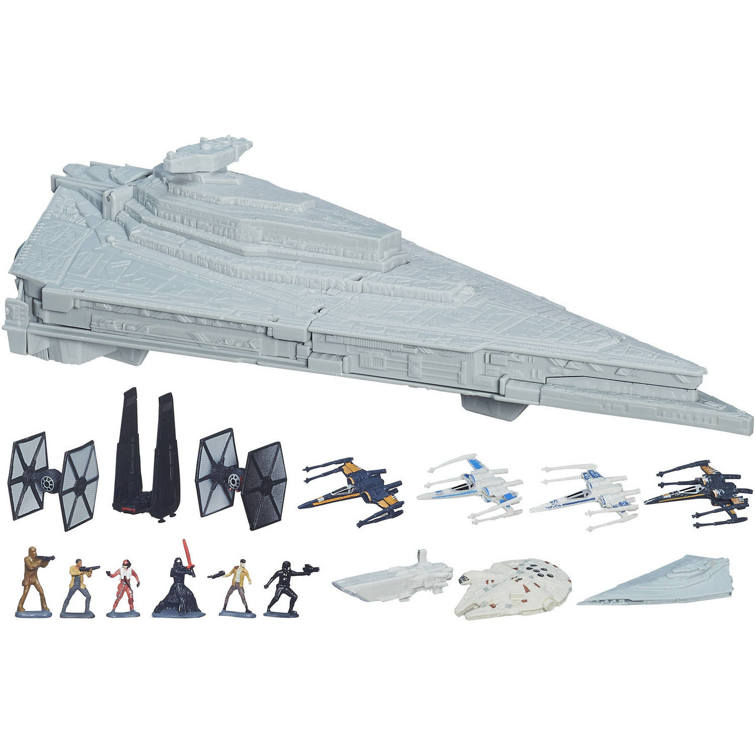 Star Wars Episode VII Micro Machines First Order Star Destroyer Playset
