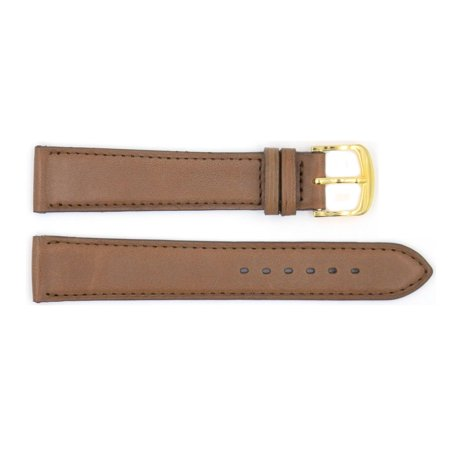 Handmade Tan Genuine Smooth Leather 17mm Watch Strap (Tan Smooth Leather)