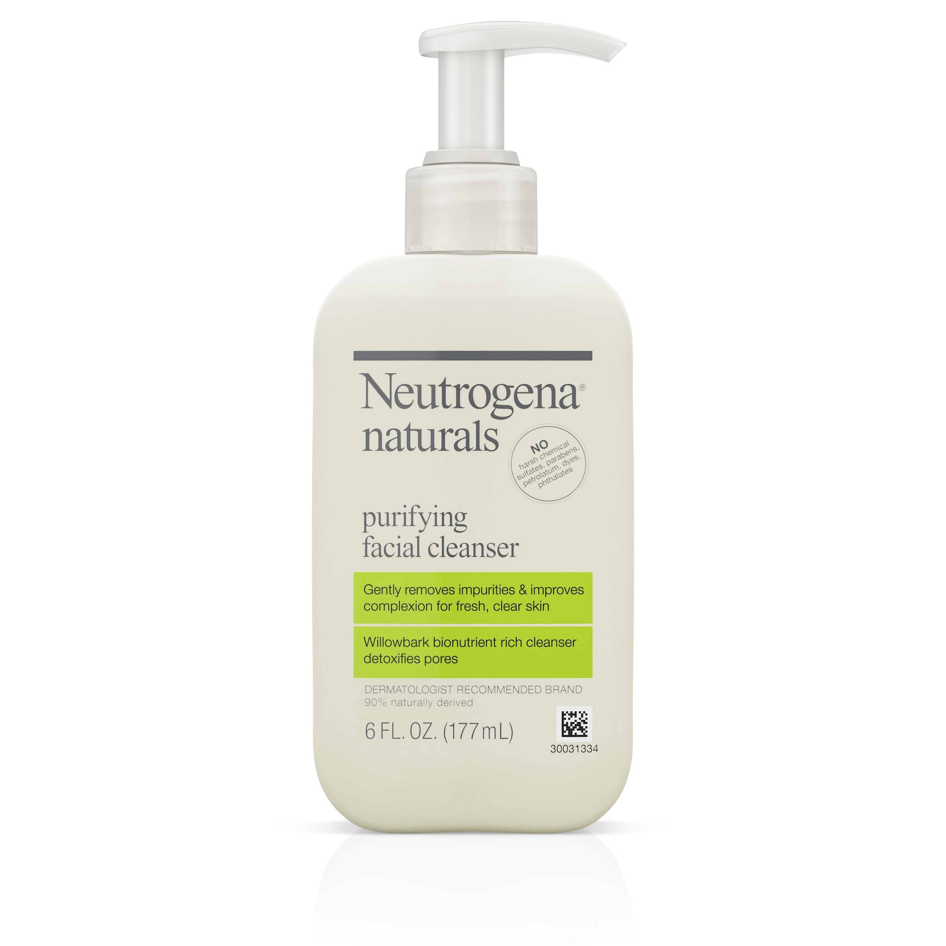 Neutrogena Naturals Purifying Facial Cleanser With Salicylic Acid, 6 Fl. Oz.