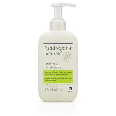 Neutrogena Naturals Purifying Facial Cleanser With Salicylic Acid, 6 Fl. Oz.