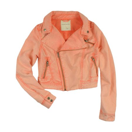 Sound & Matter Womens Faded Colored Jean Jacket