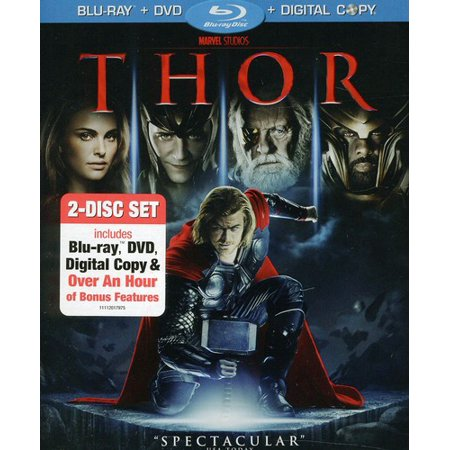 Thor (Two-Disc Blu-ray/DVD Combo + Digital Copy) (Blu-ray + DVD + Digital Copy)