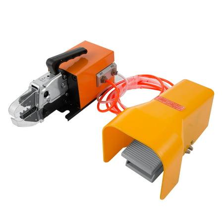 BestEquip Pneumatic Crimping Tool AM-10 Pneumatic Air Powered Wire Terminal Crimping Machine Crimping Up to 16mm2 Pneumatic Crimper ()