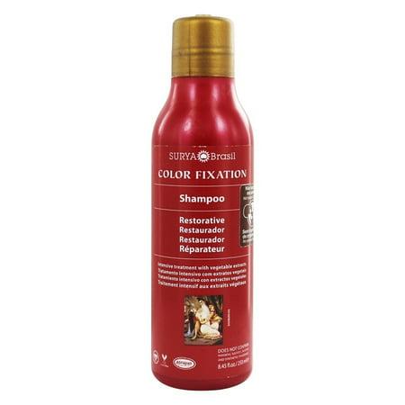 Surya Brasil - Henna Color Fixation Intensive Treatment Restorative Shampoo - 8.45 oz.