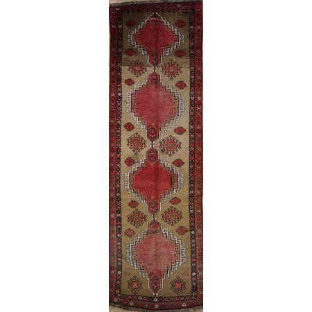 Rugsource Kazak Turkish Vintage Oriental 13 Ft Runner Rug