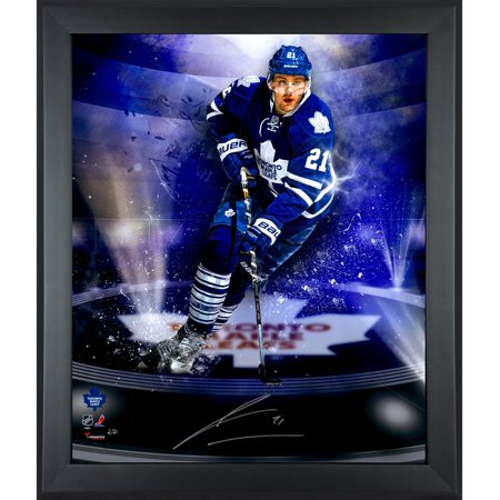 "James van Riemsdyk Toronto Maple Leafs Framed Autographed 20"" x 24"" In Focus Photograph-#1 of a Limited Edition of 21 Fanatics Authentic Certified by"