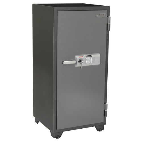 First Alert 5.91 cu. ft. Steel 2-Hour Fire and Anti-Theft Safe, 2702DF