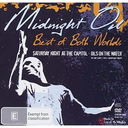 Midnight Oil: Best Of Both Worlds (CD+DVD PAL Region 0) (CD) (Includes