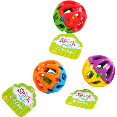 Satin Rattle ((4 Pack) Spark Create Imagine Rattle)