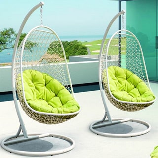Modway Rendezvous Swing Outdoor Patio Lounge Chair