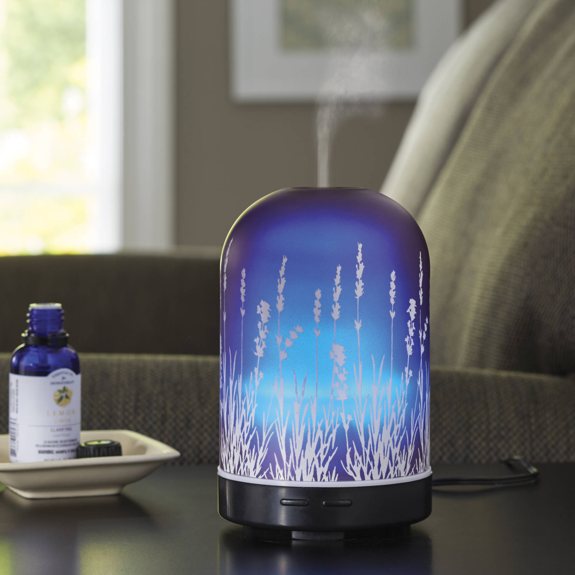 Better Homes and Gardens Essential Oil Diffuser, Lavender Fields