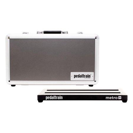 pedaltrain metro 16 tc 16x8 pedalboard with tour case. Black Bedroom Furniture Sets. Home Design Ideas