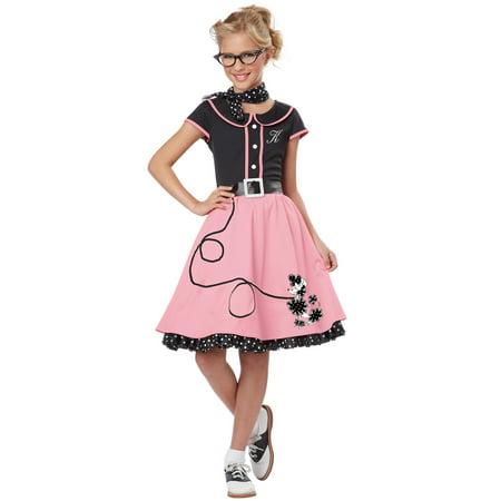 50's Sweetheart Child Costume (Child 50's Sweetheart Costume)
