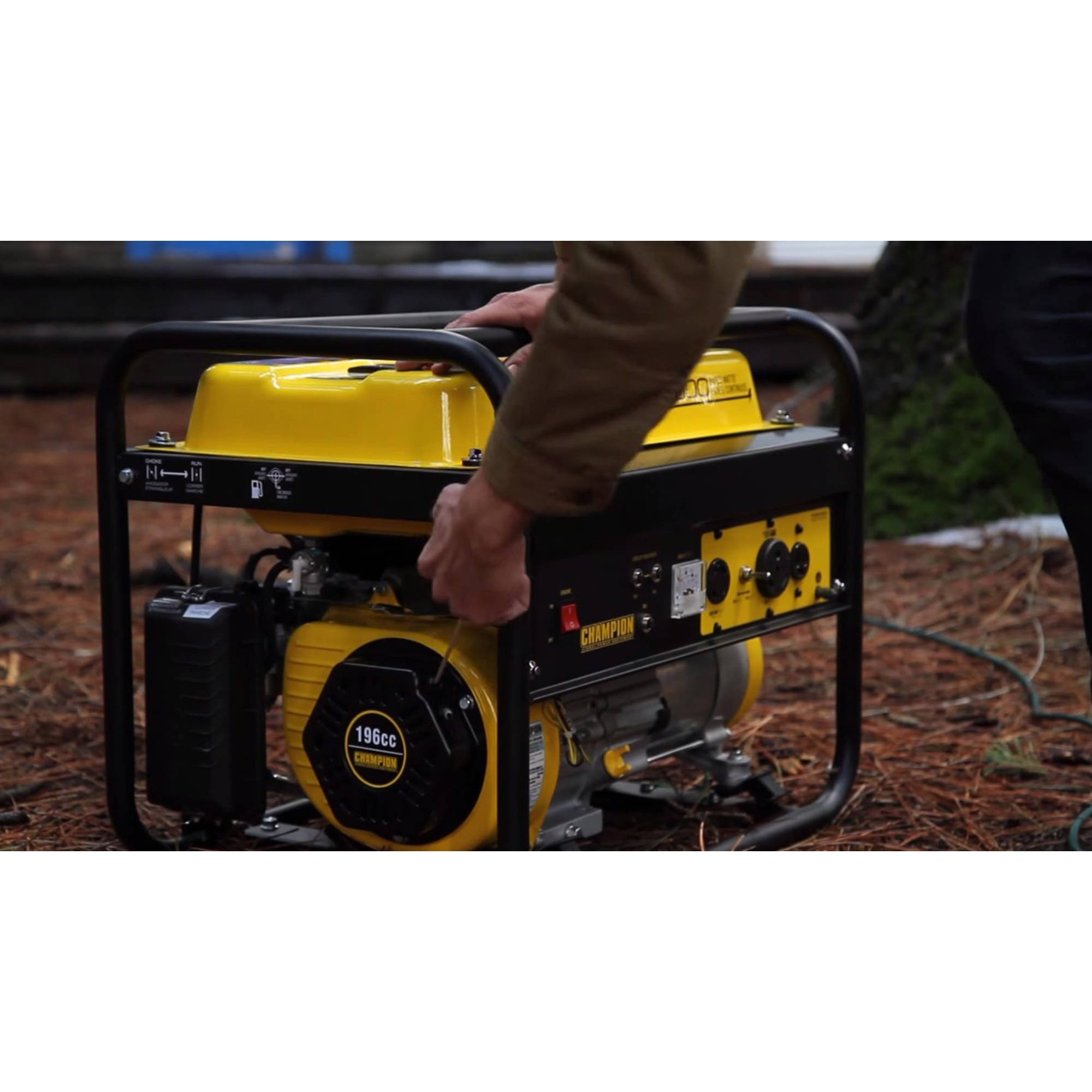 Champion 3500 Watt RV Ready Portable Generator Walmart
