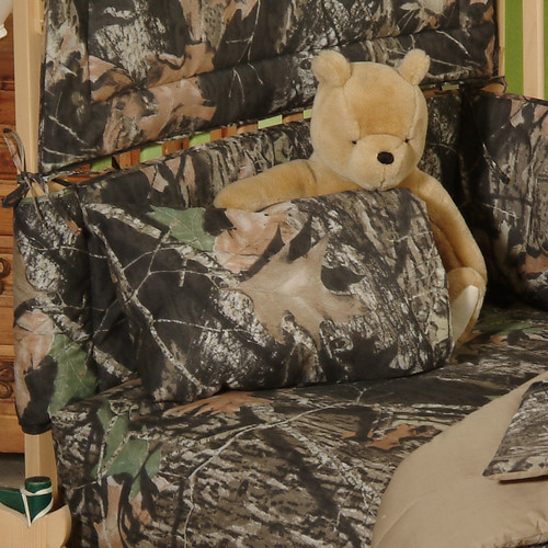 Mossy Oak New Break Up Crib Sheet and Pillowcase (Set of 2)