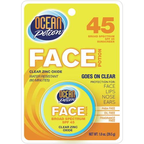 Ocean Potion Clear Zinc Oxide Face Potion SPF 45,1 fl oz