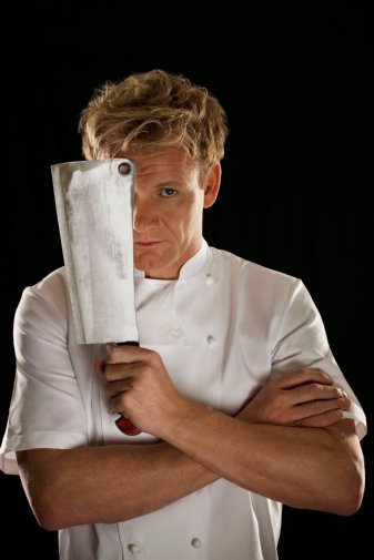 Gordon Ramsay Poster Cleaver 24x36 by