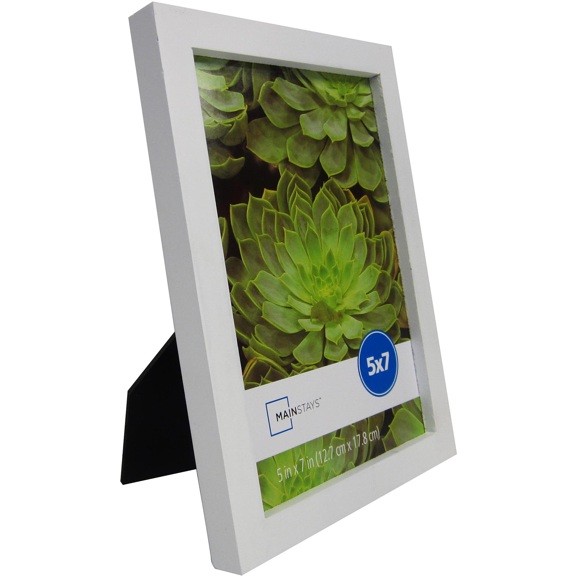 Mainstays Linear 5x7 Frames, White, 3-Pack