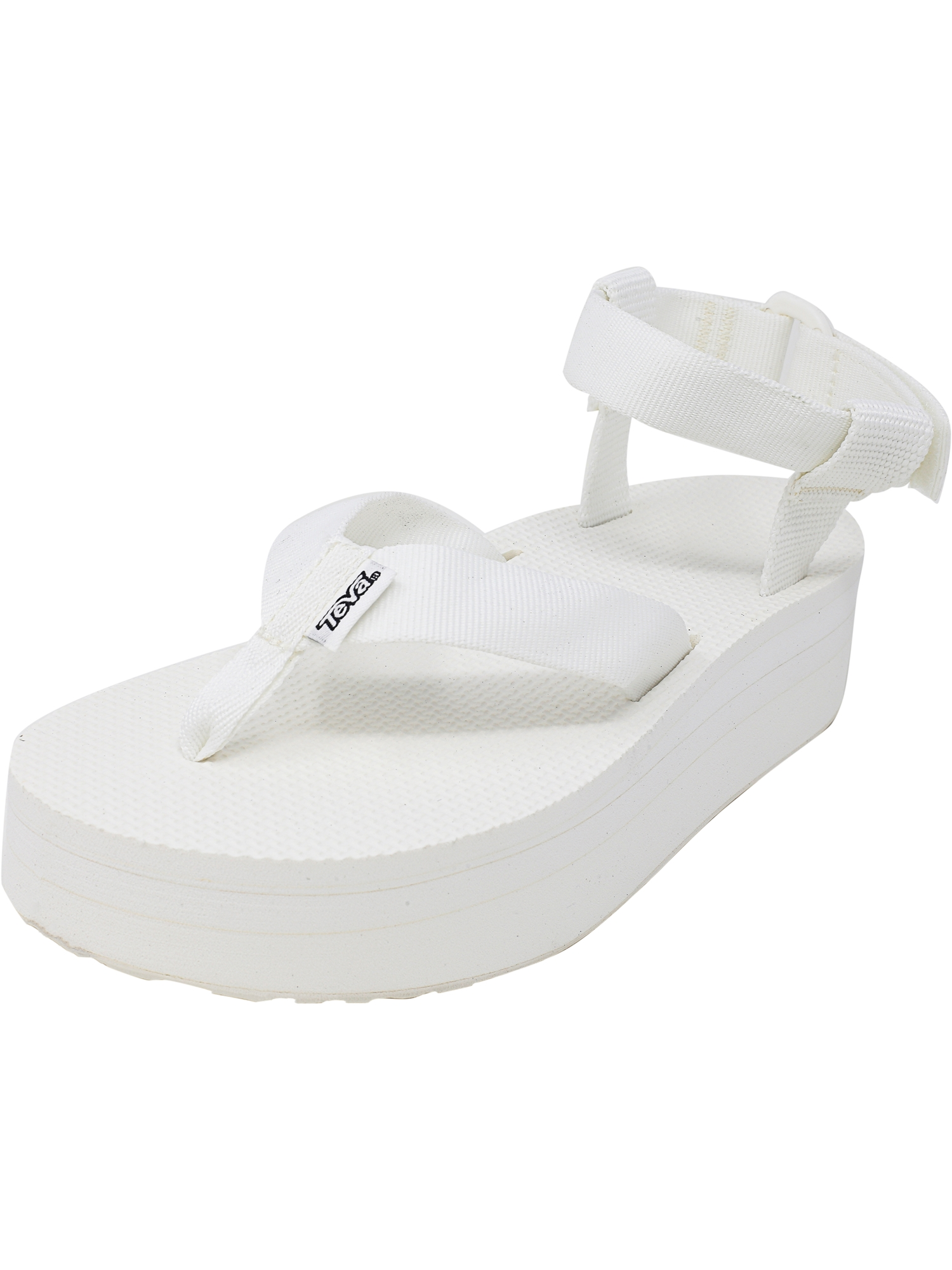 2b6d9facac03 teva flatform review Teva Women s Flatform Sandal White   Orange Ankle-High  - 9M