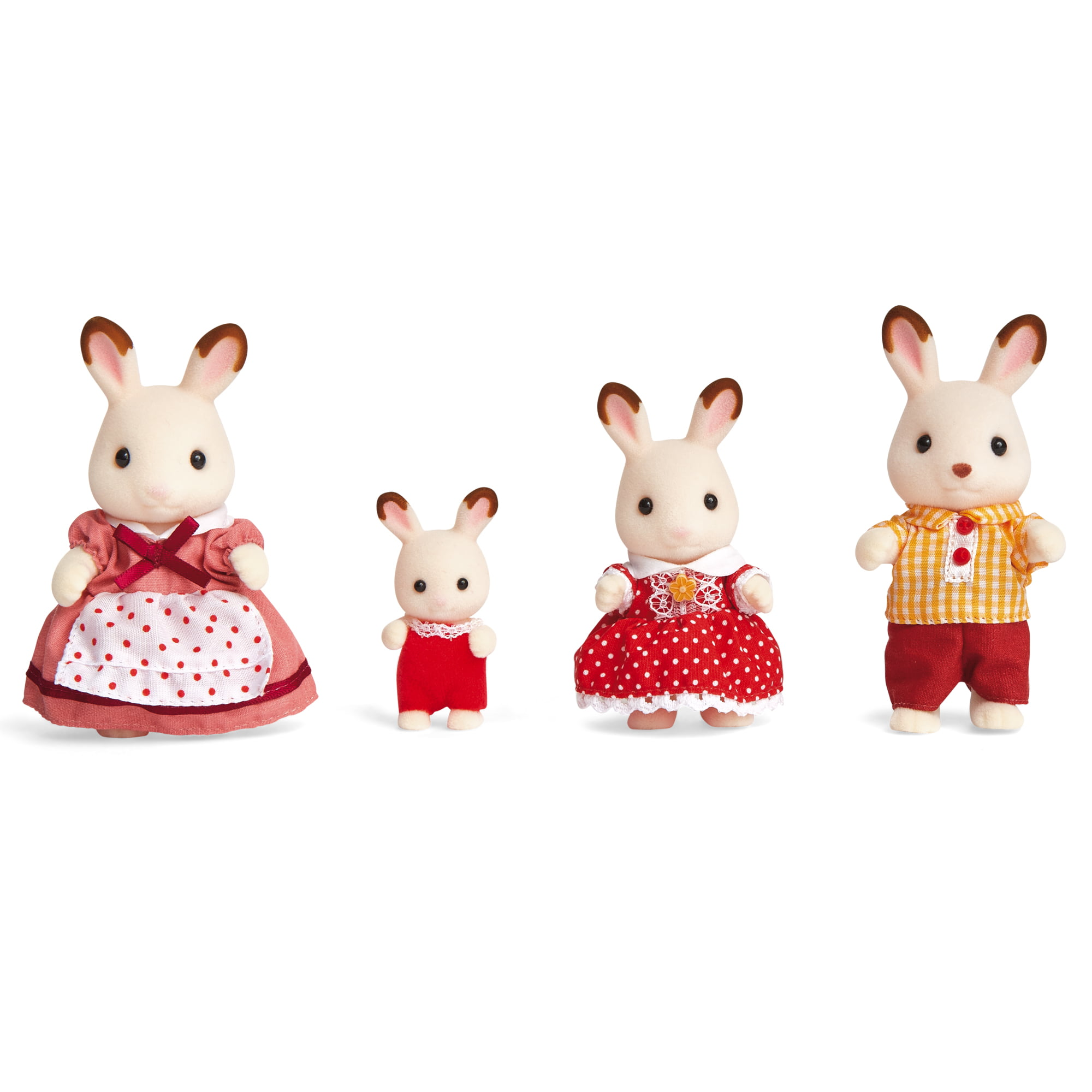 Calico Critters Callico Critters Hopscotch Rabbit Family - Walmart.com