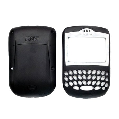 Verizon Housing - OEM Blackberry 7250 Replacement Housing Kit - Black (Verizon Logo)