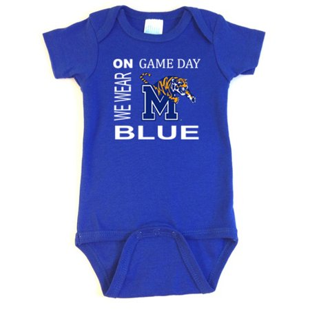 Memphis Tigers On Game Day Baby Onesie for $<!---->