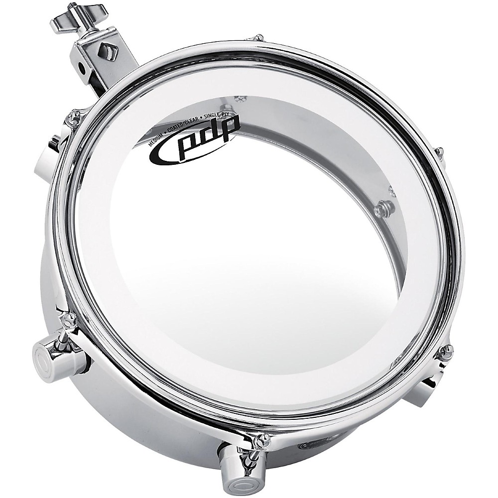 PDP by DW Mini Timbale Chrome 10 in.