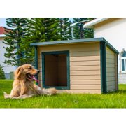 New Age Pet Extra Large Rustic Lodge Dog House