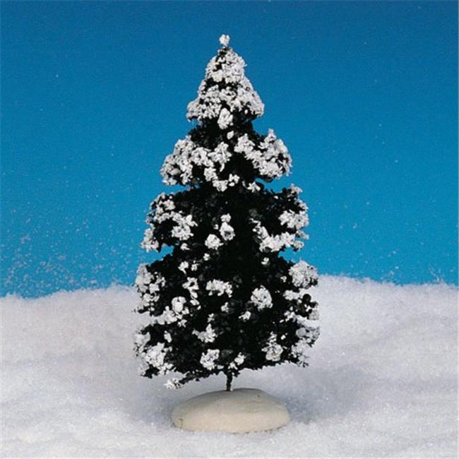Lemax 44085 Snow Covered Evergreen Tree  6 in. - pack of 12