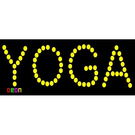 Yoga Neon Sign (19