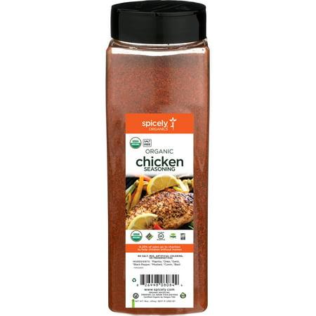 Spicely Organics Chicken Seasoning Club Size Certified Gluten Free