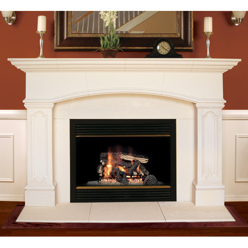 Americast Architectural Stone Abington Fireplace Mantel Surround