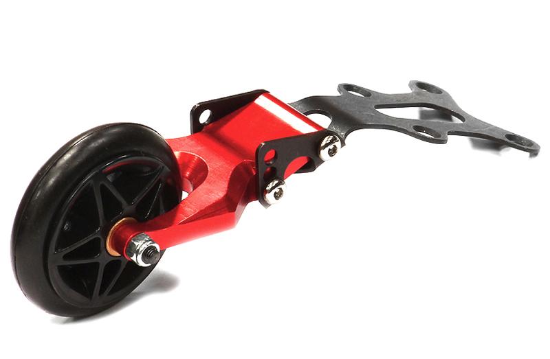 X T 6974 PURPLE Integy Rc Modelo Hop-ups Evolution 4 Wheelie Bar Para HPI Savage /&