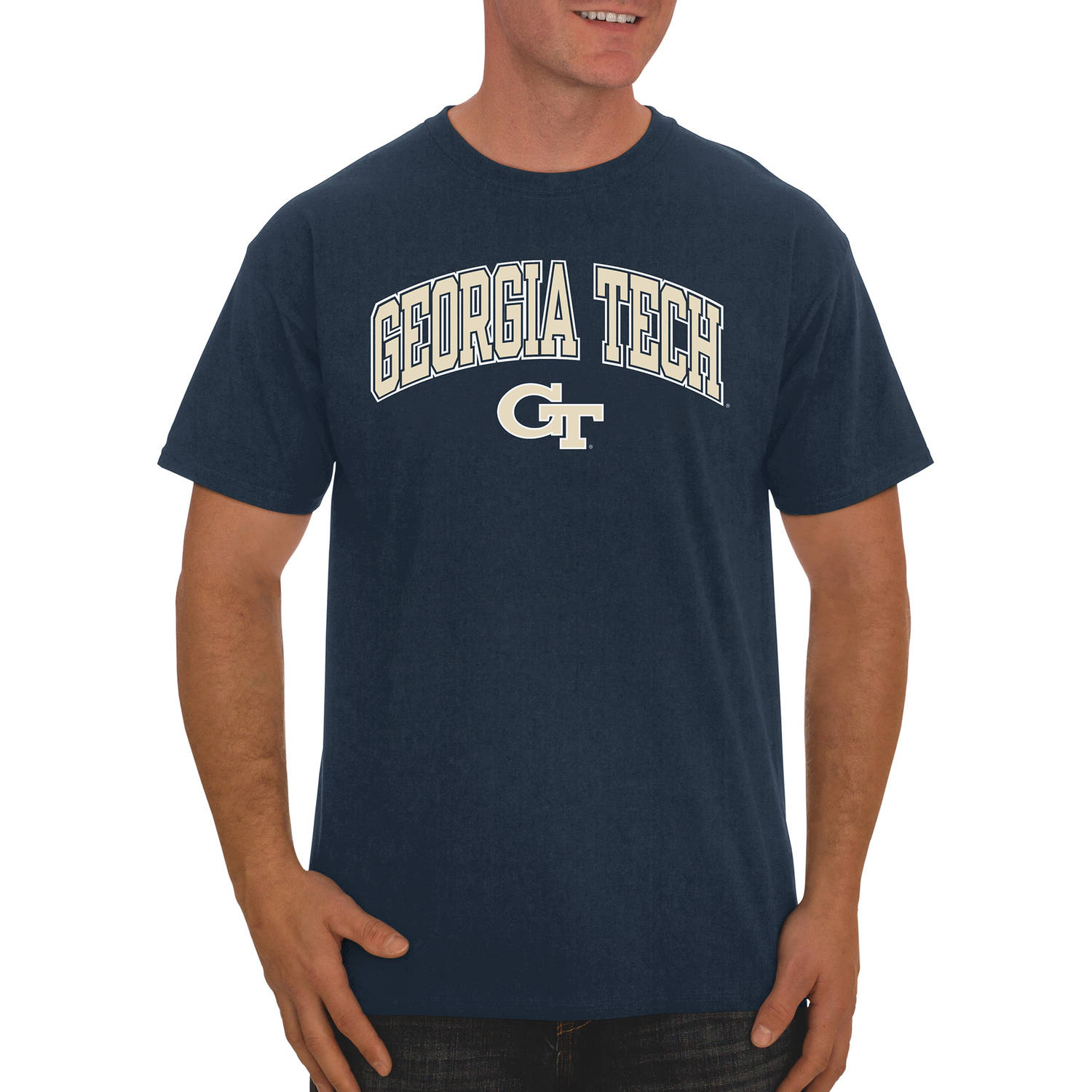 NCAA Georgia Tech Yellow Jackets Men's Classic Cotton T-Shirt