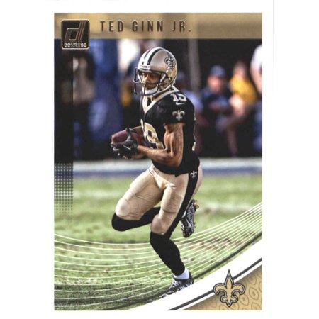 2018 Donruss #198 Ted Ginn Jr. New Orleans Saints Football (Tf Football)