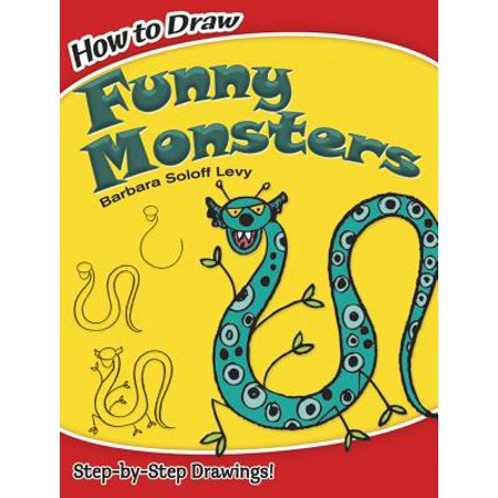 Funny Monster (How to Draw Funny Monsters)