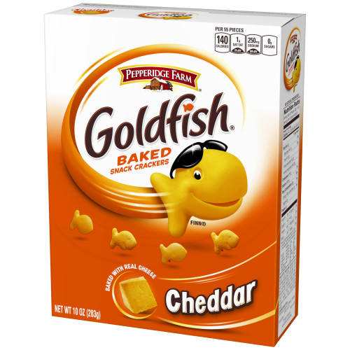 Pepperidge Farm Goldfish Cheddar Crackers, 10 oz. Box
