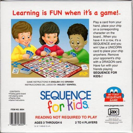 Sequence For Kids Walmart