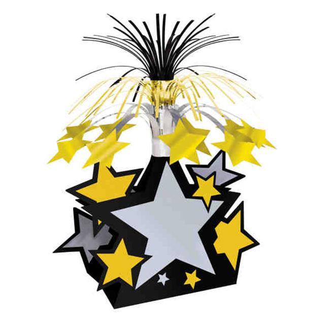 Beistle 50153 Star Centerpiece - Pack of 12