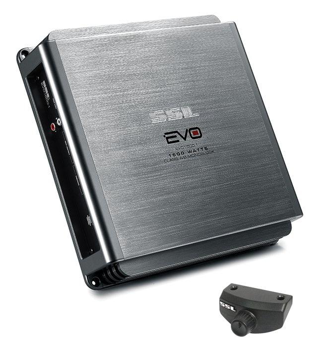 SSL EVO1500.1 EVO 1500W Monoblock, Class A/B Amplifier