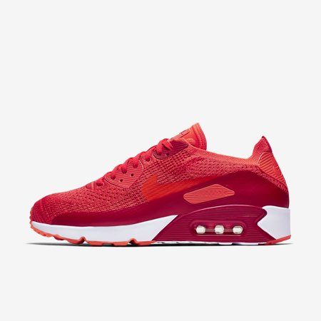 Nike Air Max 90 Ultra 2.0 Flyknit Bright Crimson Men's Shoes Sz 9.5 875943 600