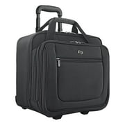 SOLO Classic 17.3-Inch Laptop Rolling Case , Black - New